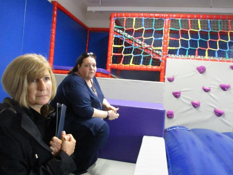 Oakmere Road's soft play provides lots of opportunities to practice key Move skills