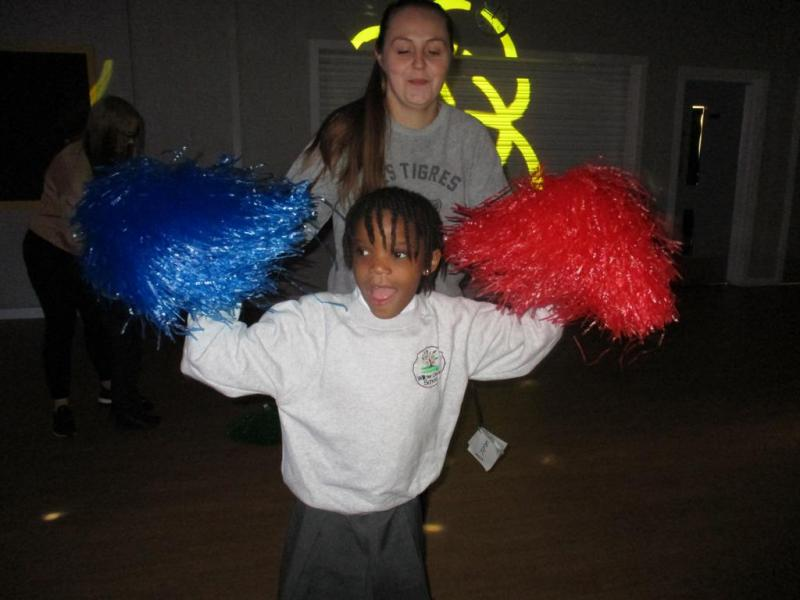Whizz! Pop! Bang! - moving like a firework and lighting up the room like one too!